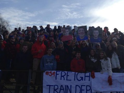 Student section #freighttraindepot