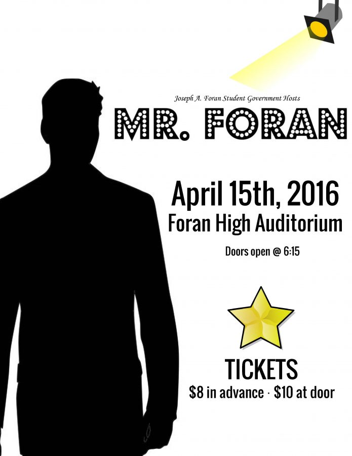 Student+Government+Hosts+Mr.+Foran+Pageant