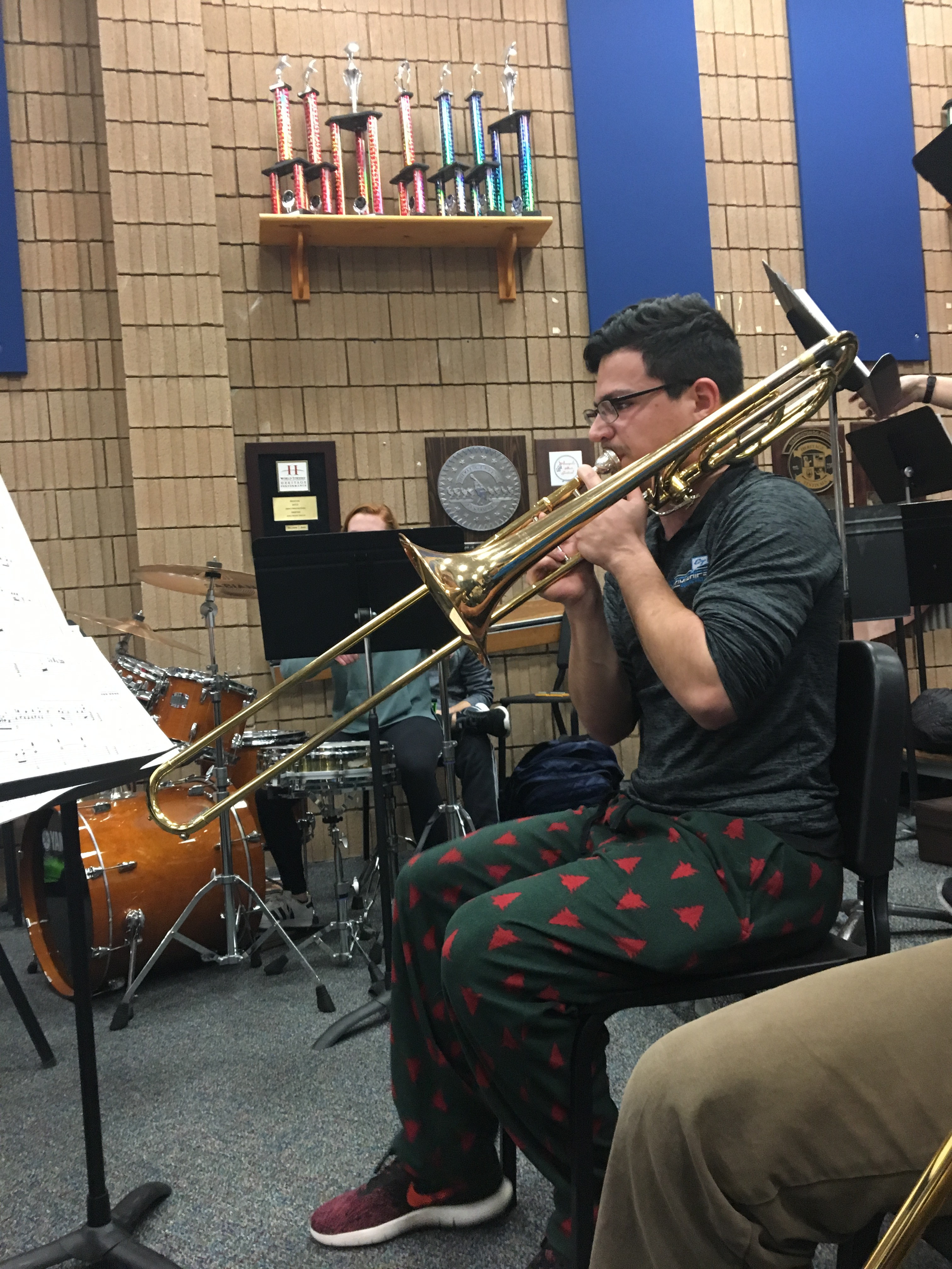 Entertainment Band Students Raving About Jazz Band Lucas Burgard