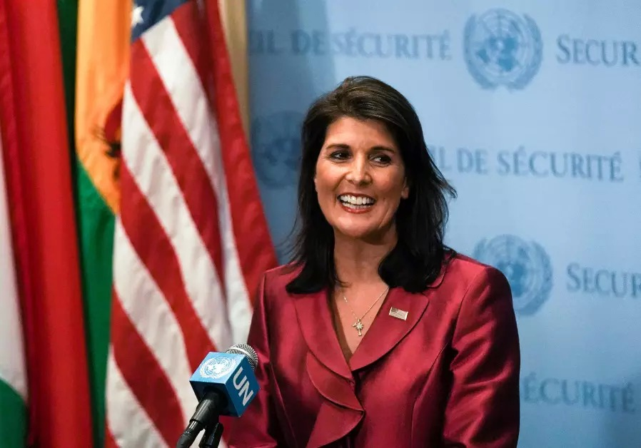 US+Ambassador+to+the+UN+Nikki+Haley+Resigns