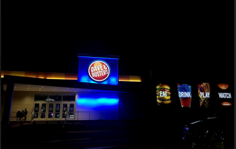Outside view of Dave and Buster's located in the Connecticut Post Mall. Photo taken by Malcolm Chavez on November 25, 2018.
