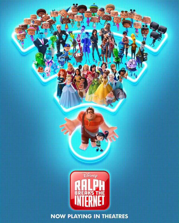 Poster+for+Disney%E2%80%99s+Ralph+Breaks+The+Internet+in+theaters+now.+Photo+courtesy+of+Disney+Movies%0A