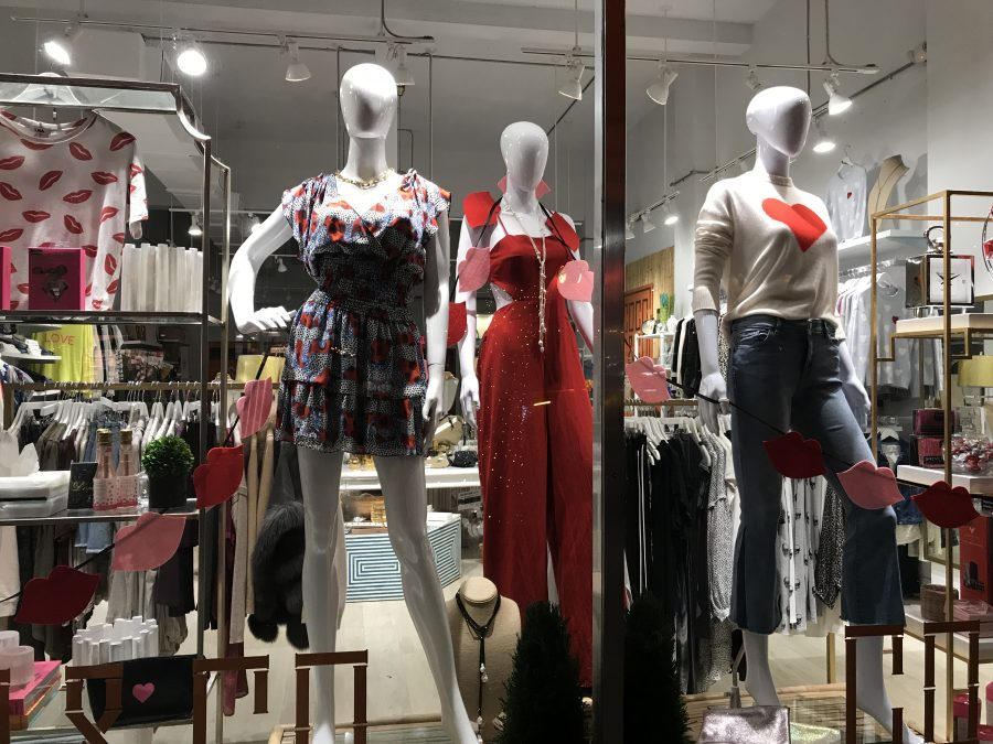 Bright+colors+are+more+common+during+the+spring+and+summer+time.+Reds+and+whites+are+covering+the+stores+this+year.+