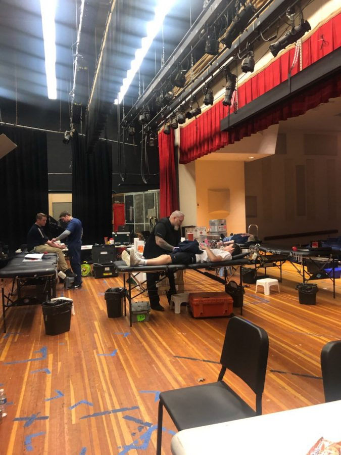 Key Club Runs Blood Drive: Foran's Auditorium on May 3