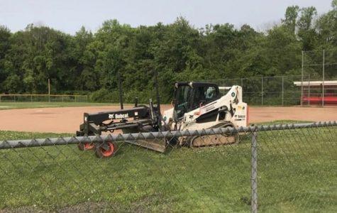 Digging Deep: Foran Breaks Ground on New Field:  Danni Kemp Memorial Softball Field