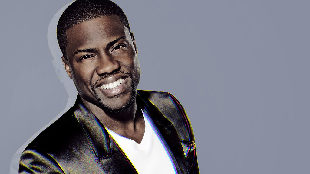 Picture of Kevin Hart smiling. Students at Foran High School wish him and his family (wife and three kids) a smooth recovery.