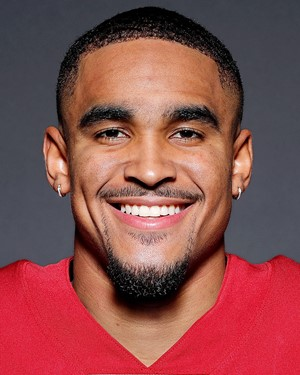 Photo courtesy of ESPN. Jalen Hurts, QB for Oklahoma Sooners
