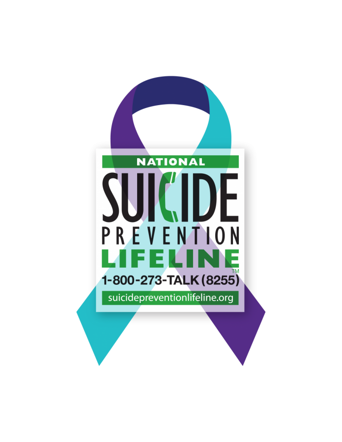 Suicide+Prevention+Ribbon+with+lifeline+information.+Photo+courtesy+of++suicidepreventionlifeline.org