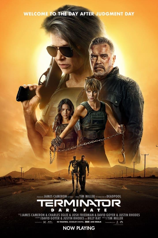 Poster for new Terminator: Dark Fate movie. Photo courtesy of the official  Terminator: Dark Fate movie website.