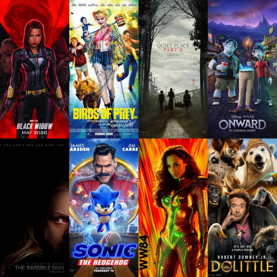 Movies coming soon to theaters this year 2020. Photo courtesy of IMDb.