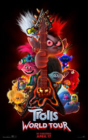 Trolls 2: World Tour hosts a new outlet to broadcast the variety of genres in music by including popular artists; Kelly Clarkson, Anthony Ramos, Dierks Bentley, and Anderson .Paak.  (Courtesy of IMDb)