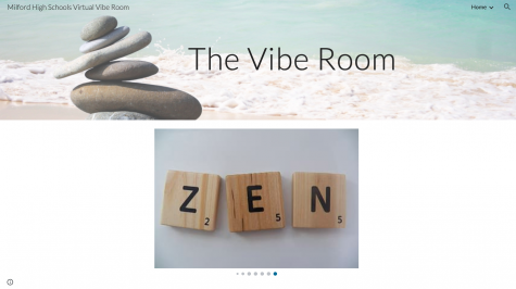 Homepage of the Milford High Schools Vibe Room
