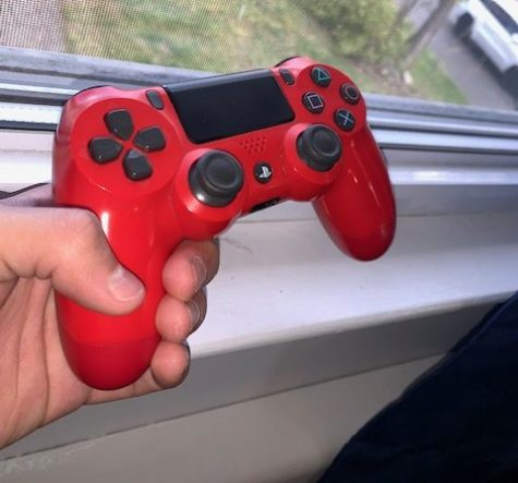 Photo of a Ps4 controller. Photo courtesy of Joel Acevedo.