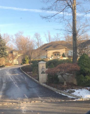 Tony Sopranos house in North Caldwell, NJ. Photo courtesy of Nick Lawrence.