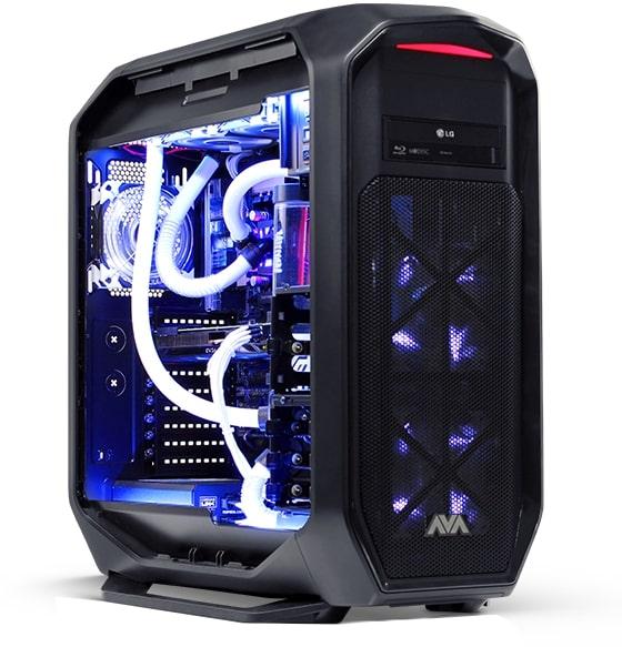 Extreme Gaming PC. Photo courtesy of Jjulienava.