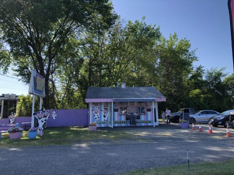 Photo of Cone Zone, an ice cream shop in Milford,Connecticut. Photo courtesy of Shawn Gaul.