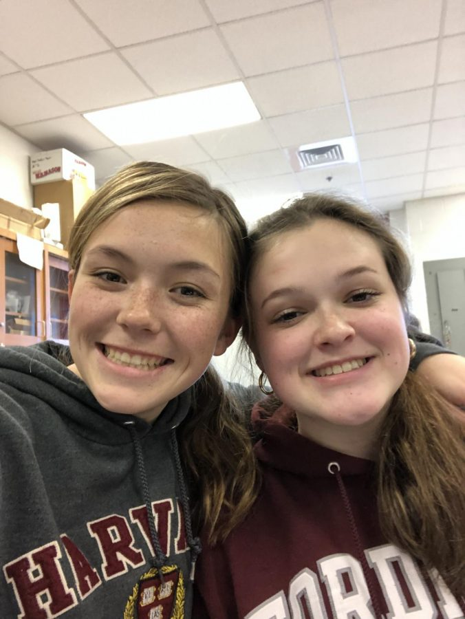Lauren Nieman and Corina Massey