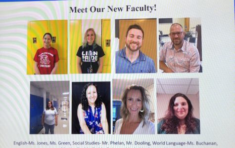 Pictures of the eight new teachers at Foran this year.  Photo courtesy: Sarah Casey