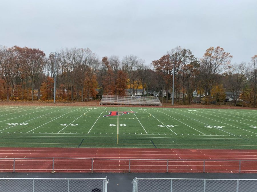 Foran+High+School%C2%B4s+Vito+DeVito+Field.++Where+the+2020+Thanksgiving+game+would+have+been+held.+Photo+Courtesy%3A+Lindsey+Larese.