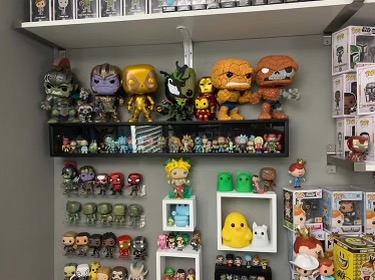 Collection Extravaganza : A Funko Collection displaying the wide variety of the Funko products. Photo Courtesy : Adam ( BeardOfPop).  Oct. 31, 2020.