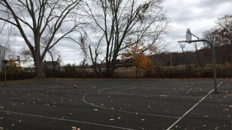 Full Court: Basketball court at Wilcox Park. Photo Courtesy: James Dalby, November 15, 2020.