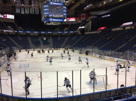The AHL's XL Center in Hartford, Connecticut. Taken February 17, 2017. Photo Courtesy of Ronan Smith.