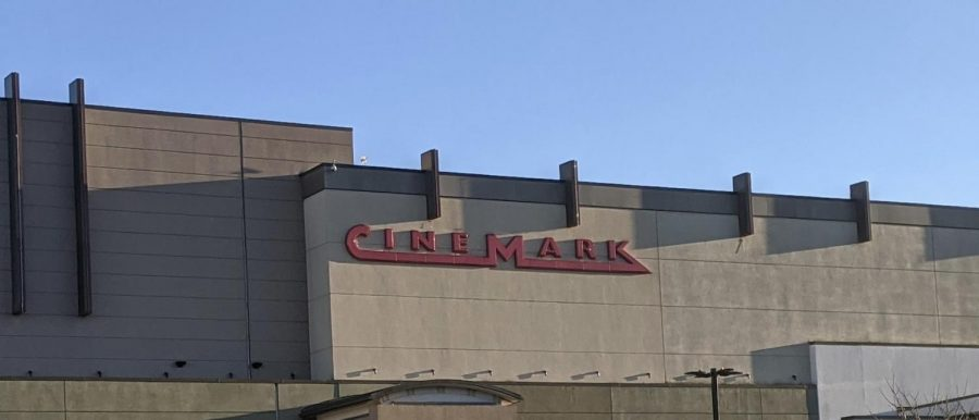 A Cinemark theater in Milford, Connecticut. Photo courtesy: Yusuf Abdelsalam, November 18, 2020.
