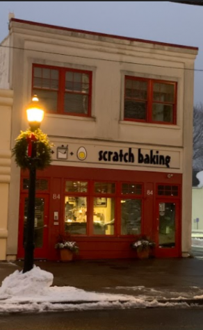 Located in downtown Milford, Scratch offers a variety of treats. photo taken December 20, 2020