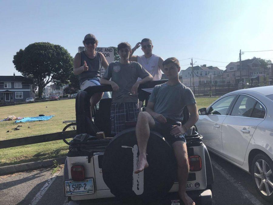 Photo Caption: Senior Jacob Shushan and his best friends. Photo Courtesy: Jacob Shushan September 5, 2020