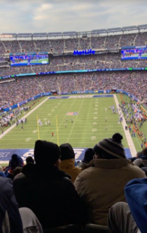 Take it to the corner: The New York Giants take on the Dallas Cowboys in a divisional rivalry in 2019. Photo courtesy of Oliver Ardrey.