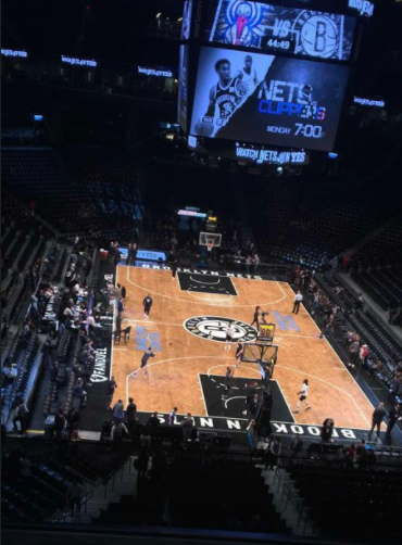 A battle of the East, the New Orleans Pelicans face off against the Brooklyn Nets in a regular season matchup. Photo courtesy: Ian Eisenman July 22, 2020.