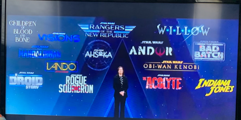The Future of Star Wars: The Disney Investor Day provides a look at many new Star Wars media coming in 2021. Photo Courtesy of Kevan Cogan. January 21, 2021.