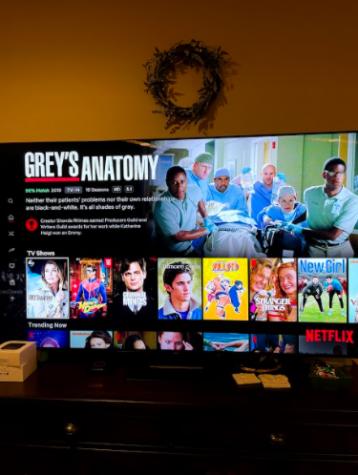 Netflix Home Page: Photo Courtesy: Tori Matula, January 21, 2021