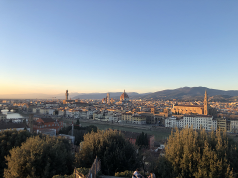 Views of Italy Julia's view of Piazzale Michelangelo in Florence