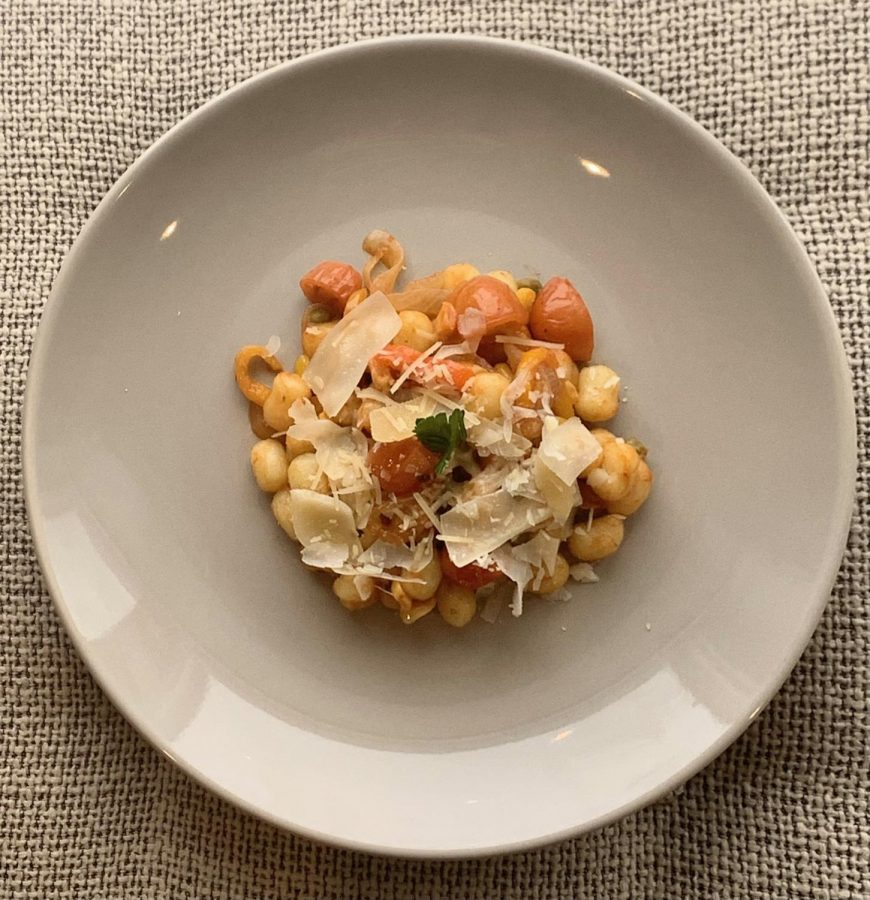 Pasta Primavera: A nutritious and delicious vegetarian dish.