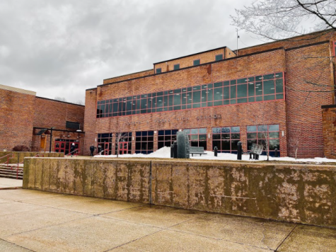 Where The Freshman Fears Begin: The exterior of Foran High School. Photo Courtesy: Rumeysa Bayram, March 1, 2021