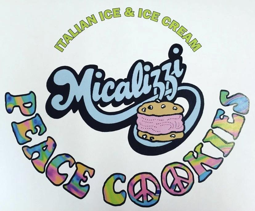 Micalizzi Italian Ice logo. Photo Courtesy: Alex Vazzano.