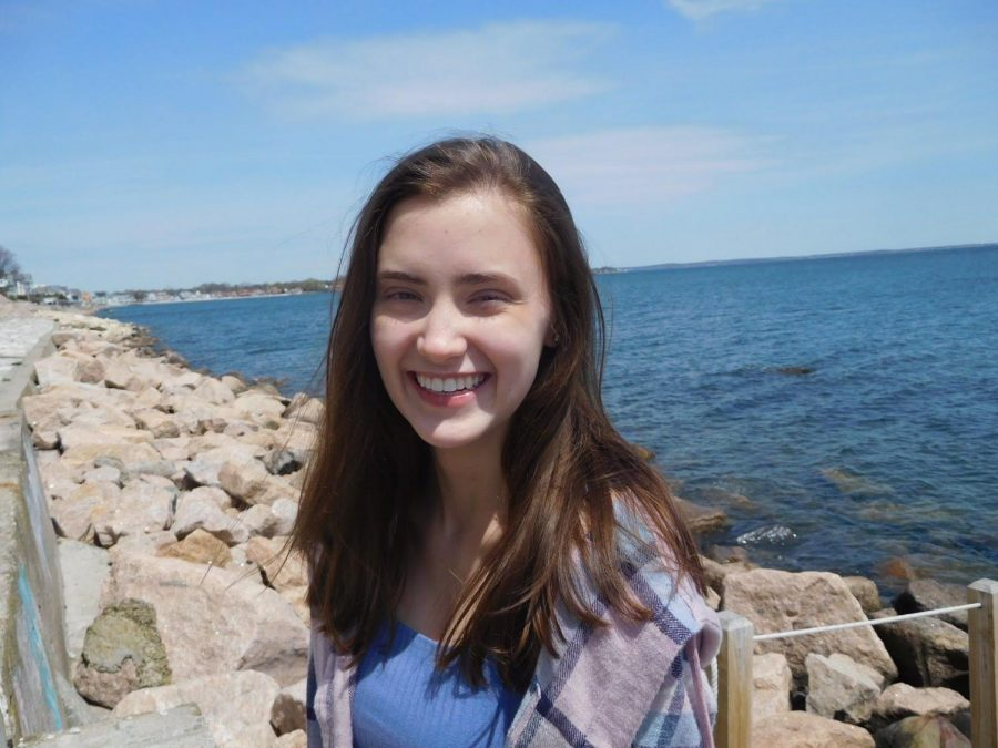 Treasurer: Emma Davies. She has been accepted into UCONN's prestigious Honors College.