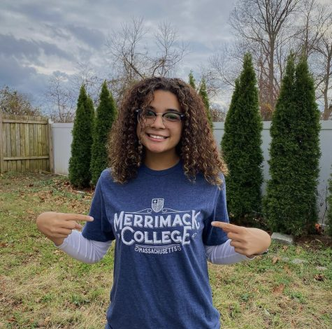 Trumpetist Kaya Vital: Representing her future college. Photo Credit: Kaya Vital.