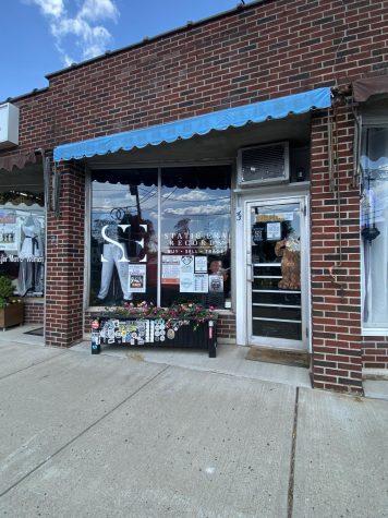 Static Era Records: The entrance to the record store owned by Jay Reason. Photo Credit: Rumeysa Bayram, May, 18, 2021.