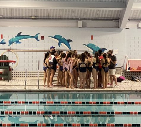 Girls' Swim Makes a Splash
