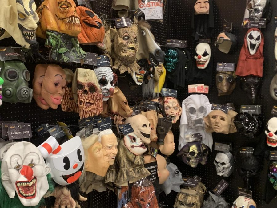 Halloween Masks, Milford Location: Masks to complete any Halloween costume.